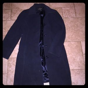 Kristin Blake SZ 8 medium length virgin wool coat